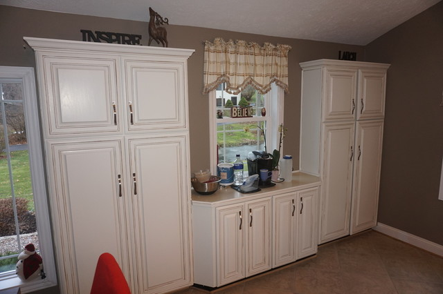 Kitchen Cabinet Painting Rochester Ny Shabby Chic Style Kitchen Other Metro By Red Truck