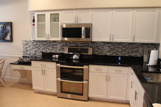 Kitchen Cabinet Refacing in Naples, FL - Contemporary - Kitchen - miami - by Ideal Kitchen ...