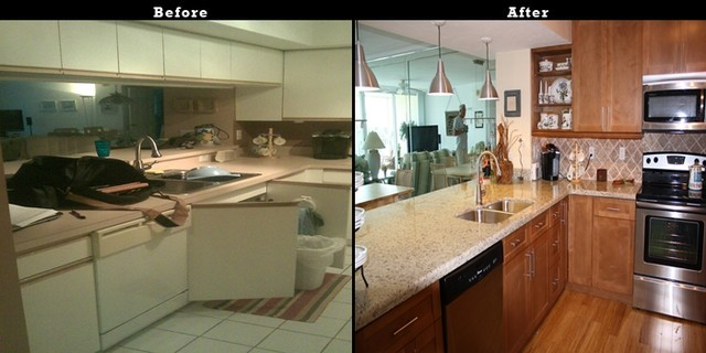 Kitchen Cabinet Refacing Of Naples Contemporary Kitchen Tampa By Best