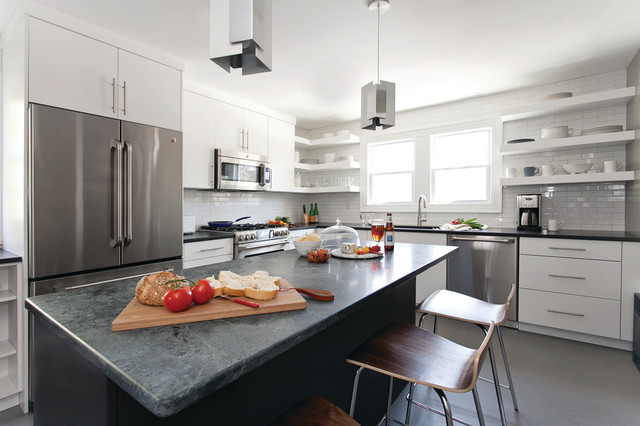 Kitchen cabinetry modern kitchen new york by cabinets direct