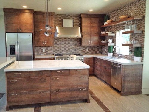 What type of wood did you use on the cabinets and what is for Types of wood used for cabinets