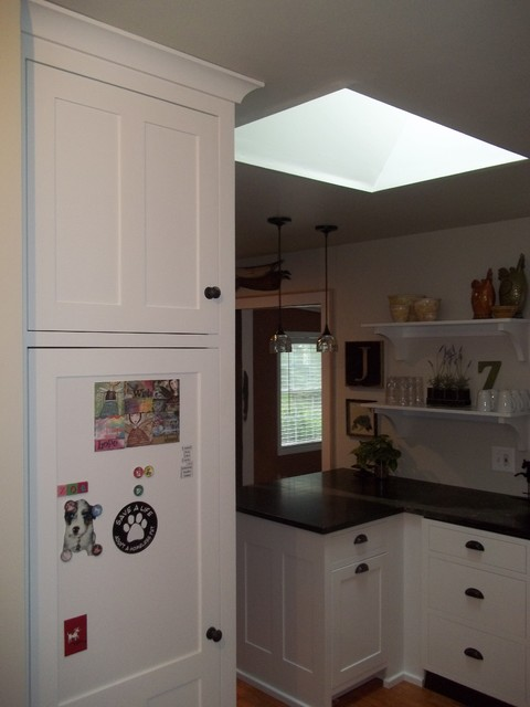 kitchen cabinetry project in rochester ny farmhouse