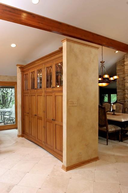... Kitchen Cabinets Ideas Kitchen Dividers Cabinets : Kitchen Cabinetry  Room Divider   Eclectic   Kitchen ...