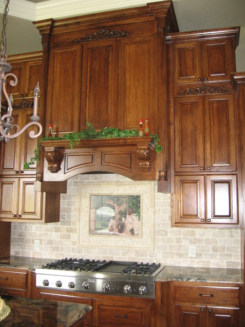 Kitchen cabinets and hood vent w liner for Kitchen cabinets liners
