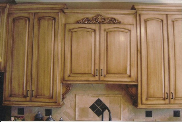 Kitchen Cabinets Before Amp After Kitchen Dallas By