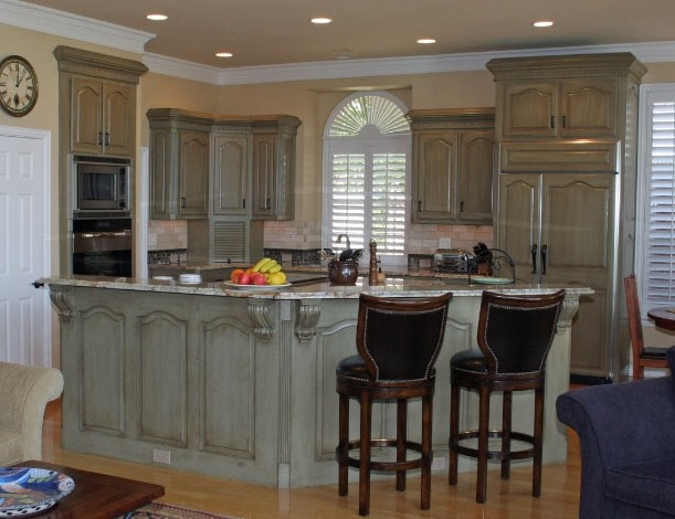 New Kitchen Cabinets Before After kitchen cabinets before & after - traditional - kitchen - dallas