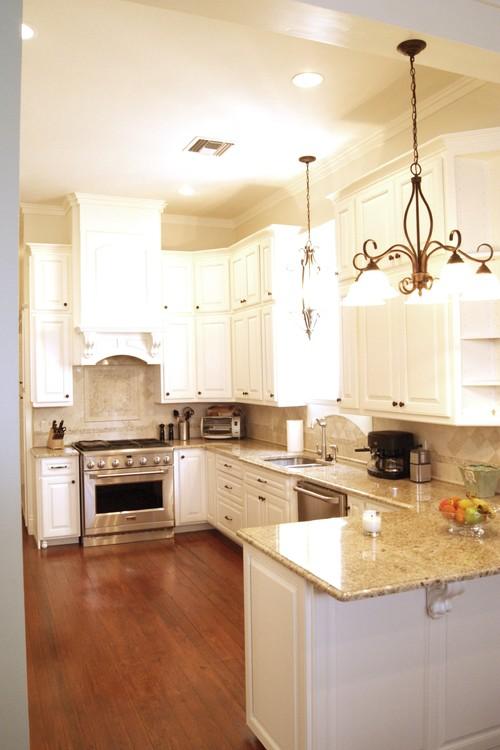 The Granite Gurus Whiteout Wednesday 5 White Kitchens With Warm Tones