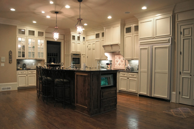 KITCHEN cabinets - Traditional - Kitchen - atlanta - by Creative Cabinets and Faux Finishes. LLC