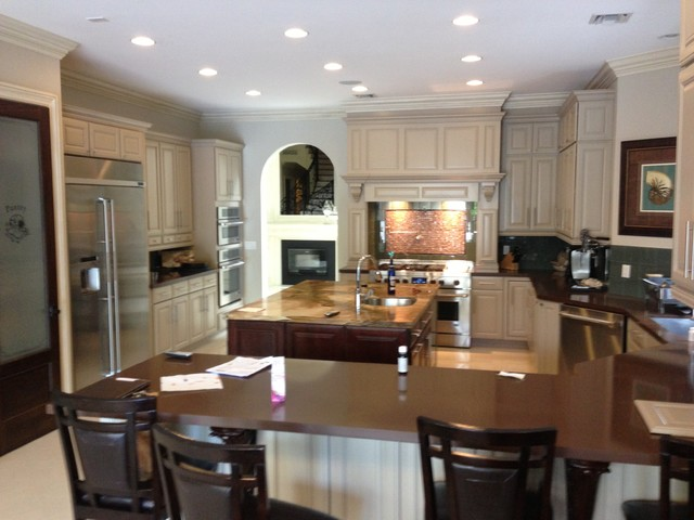 Kitchen Cabinets Traditional Kitchen Miami By Metro Door Usa