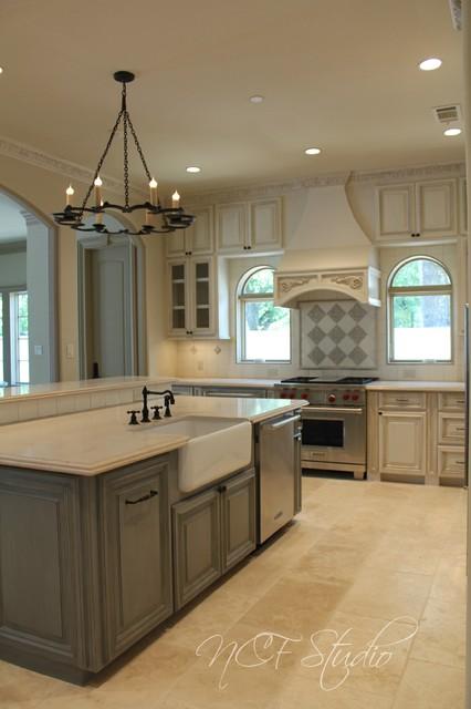 Kitchen Cabinets Transitional Kitchen Houston By Ncf Studio