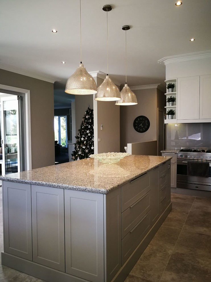 Kitchen Cabinets Refacing Traditional Kitchen Melbourne By Boccer Australia