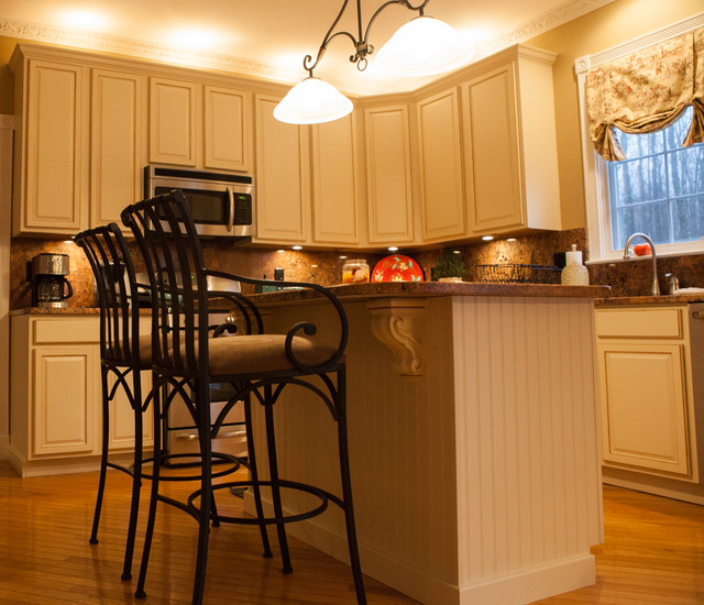 Kitchen Cabinets Refinishing ,Kim's Project ,Robbinsville,NJ