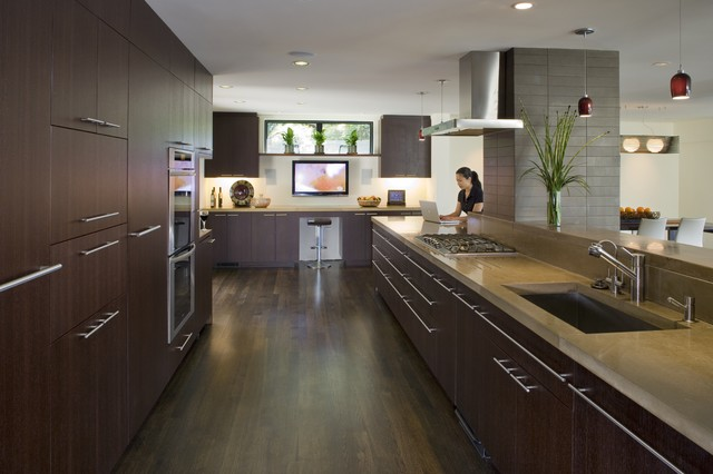 modern kitchen by Camber Construction