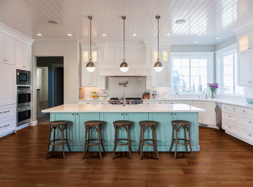 How Many Pendants Do You Hang Over A Kitchen Island - Pendants above island