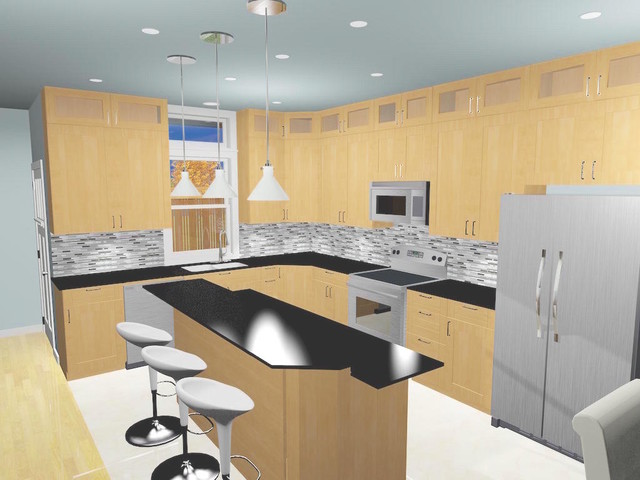 Kitchen Contemporary Kitchen Vancouver By Code Designs Inc