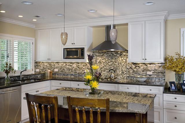 kitchen cooktop sink island contemporary kitchen
