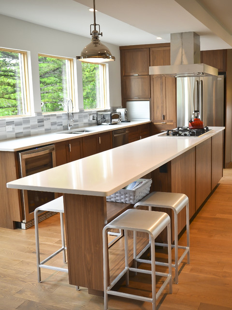 contemporary kitchen by Copper Brook Homes