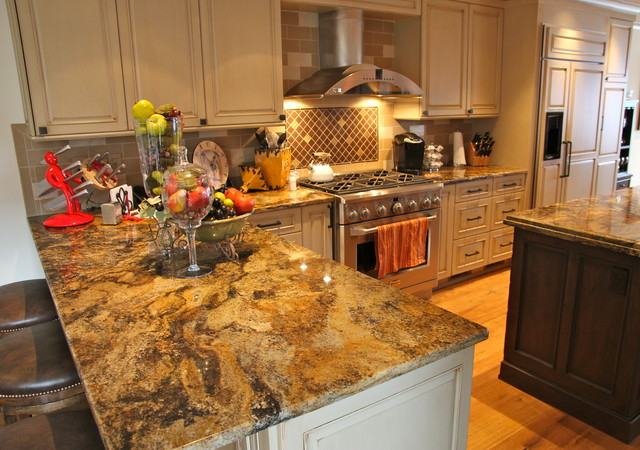Kitchen Counter tops traditional-kitchen