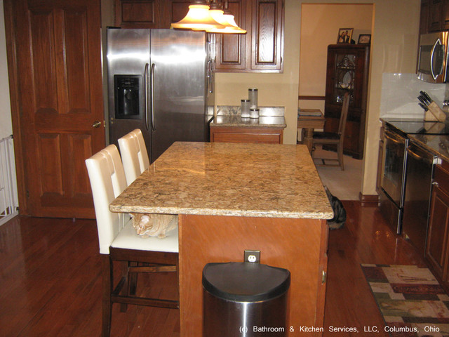 Countertop Upgrades : Kitchen countertop backsplash upgrade - Traditional - Kitchen - other ...