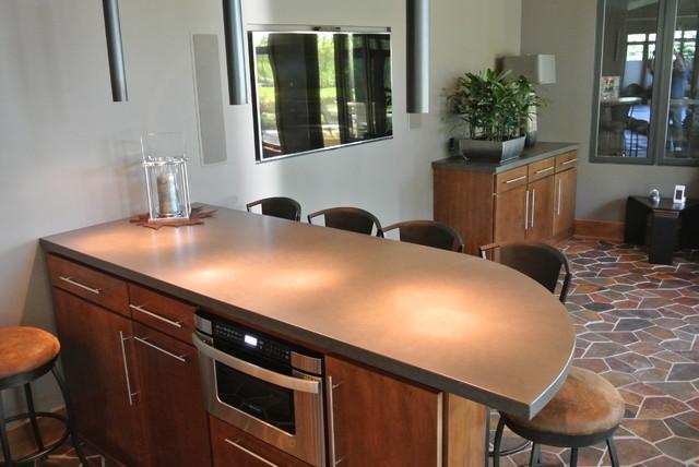 Kitchen Countertops contemporary-kitchen