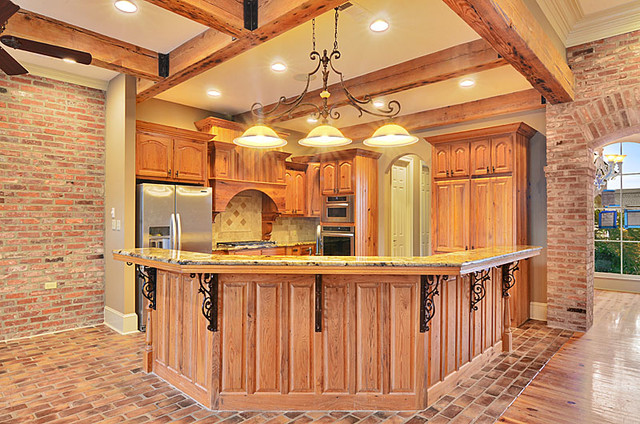 kitchen countertops rustic kitchen other by triton