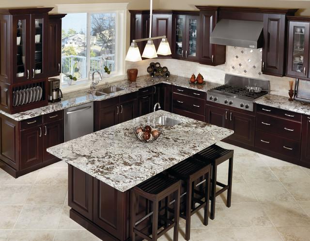 Kitchen Craft Cabinetry Dark Espresso Kitchen Cabinets