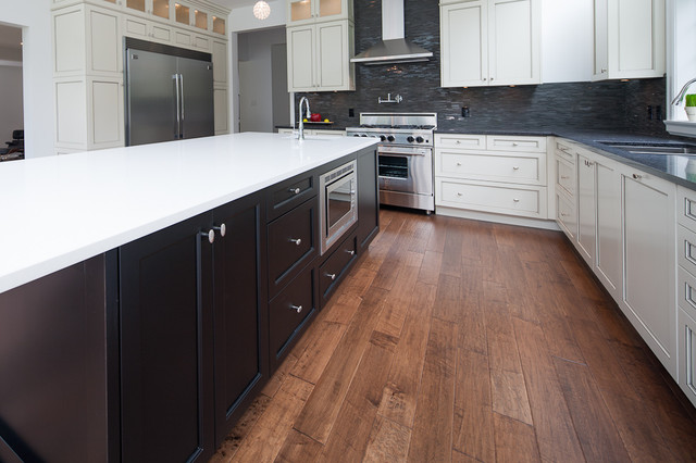 Kitchen Craft Cabinetry Vancouver traditional-kitchen