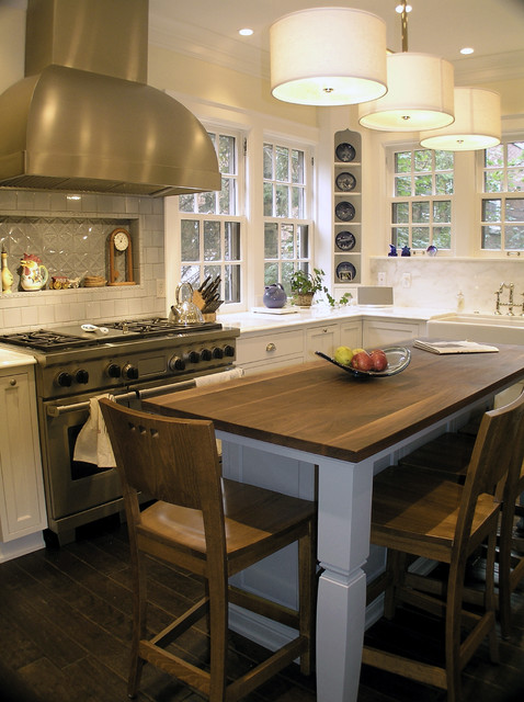 Kitchen traditional kitchen milwaukee by cream for Building traditional kitchen cabinets by jim tolpin