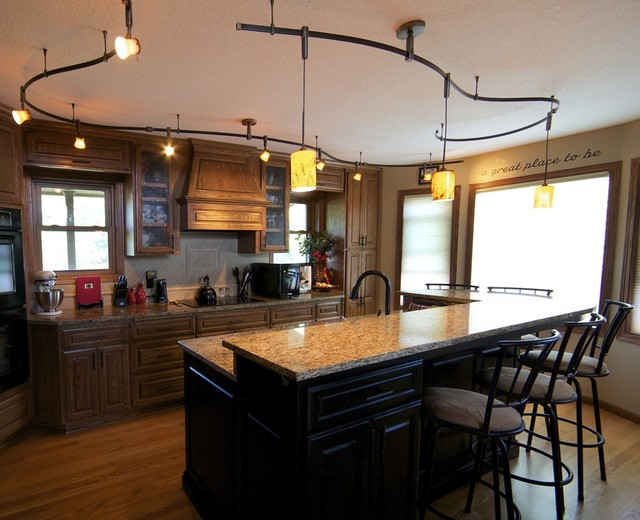 Kitchen rail by creative lighting kitchen minneapolis by creative lighting - Kitchen design minneapolis ...