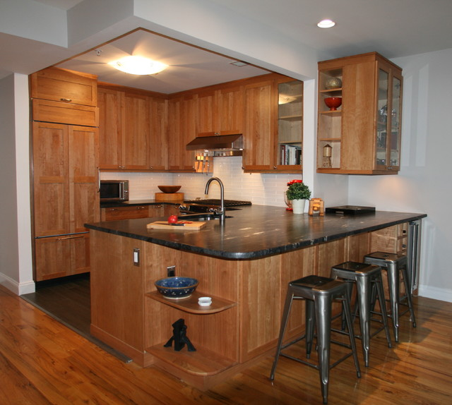 Man Cave Kitchen - After - Transitional - Kitchen - New ...