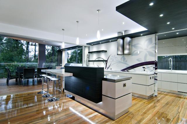 Kitchen Design Australia Minimalistisch Küche Brisbane Von Cool Architectural Kitchen Designs