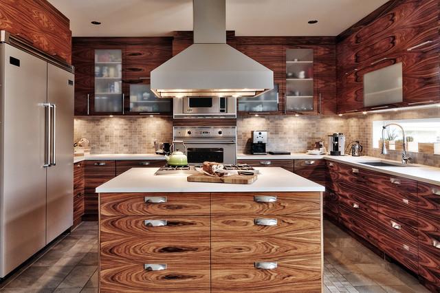 Kitchen design by Hivron Macchi contemporary-kitchen