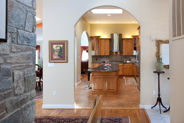 Kitchen Design Open Arches Traditional Kitchen Dc