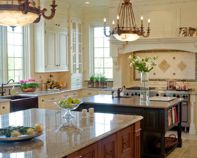 Kitchen design with french influences for Colorado kitchen designs llc