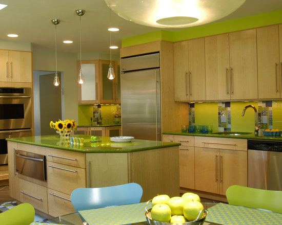 Light Lime Green Color Design Ideas, Pictures, Remodel and Decor