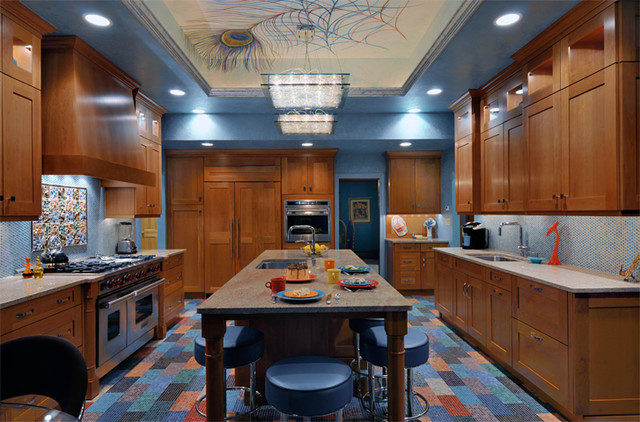 Kitchen Designs by Ken Kelly Kitchen 7 eclectic-kitchen