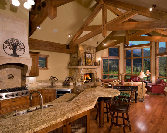 Kitchen Designs For Mountain Homes