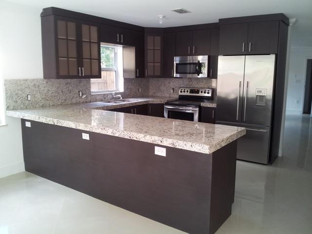 kitchen designs contemporary kitchen miami by jvm kitchen cabinets granite. Black Bedroom Furniture Sets. Home Design Ideas