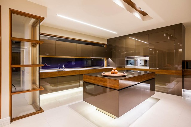 Kitchen designs modern kitchen adelaide by outside for Kitchen ideas adelaide