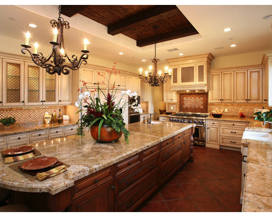 Traditional home photos find traditional home ideas and - Spanish style kitchen decor ...