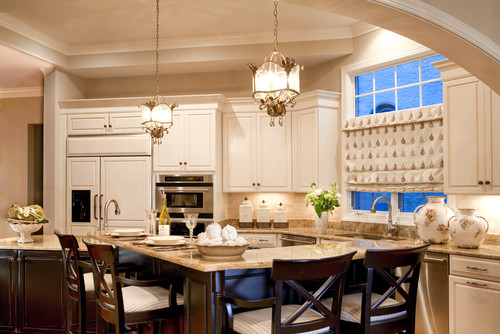share the wall color and trim color? My cabinets are BM Putnum Ivory