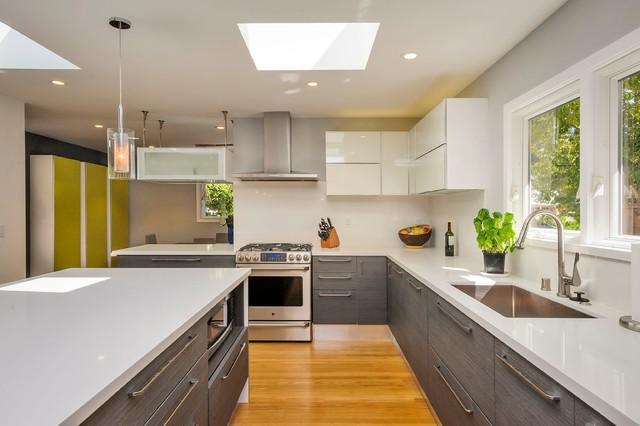 Kitchen Dining Staircase In Palo Alto Contemporary Kitchen San Francisco By European