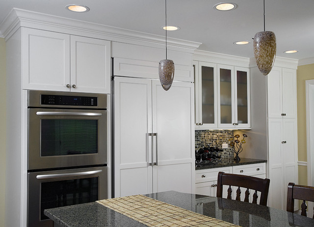 Kitchen Double Oven, Refrigerator & Pantry - Contemporary - Kitchen - chicago - by Great Rooms ...