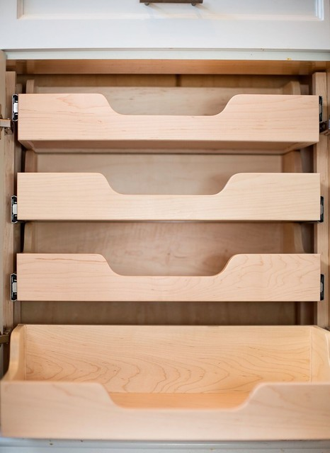 Drawer Organizer And Roll Out Shelves