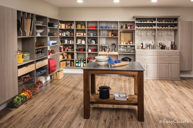 Driftwood pantry kitchen by easyclosets for Easyclosets