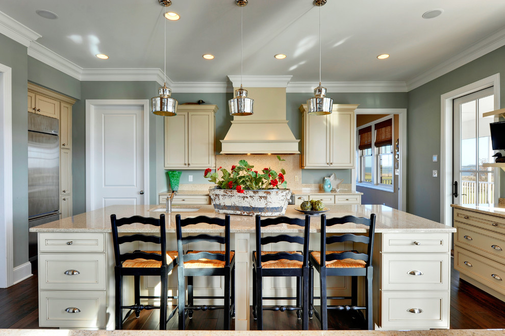 Inspiration for a contemporary kitchen remodel in Philadelphia