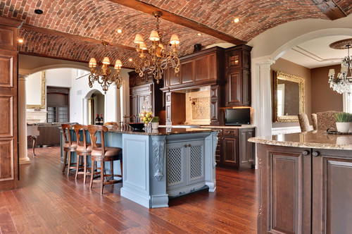mediterranean kitchen The Fifth Wall: Designing Your Ceiling