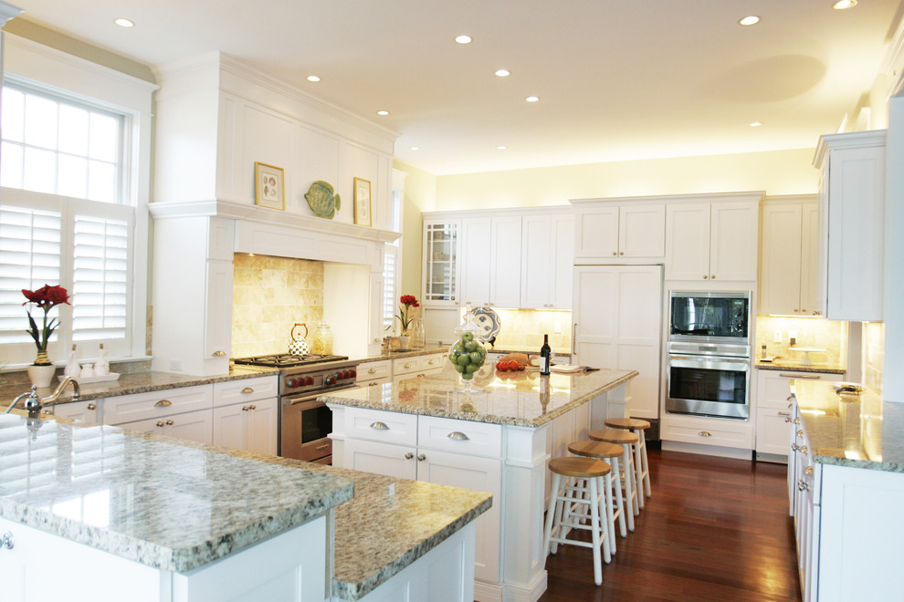 Kitchen - traditional u-shaped kitchen idea in Other