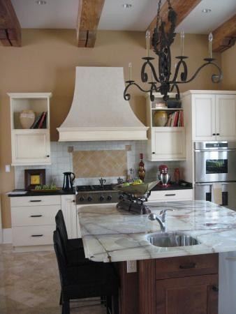 Living Spaces and Bedrooms traditional-kitchen