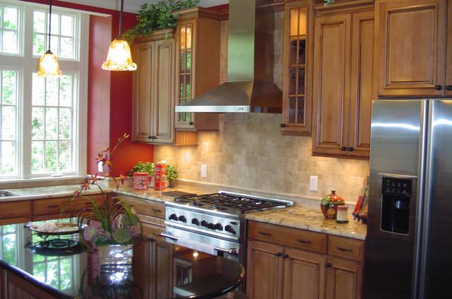 Kitchen traditional kitchen raleigh by eddie rider for Kitchen design raleigh